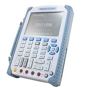 Hantek DSO 1200 - Osciloscopio portátil y multímtero digital (200 MHz)