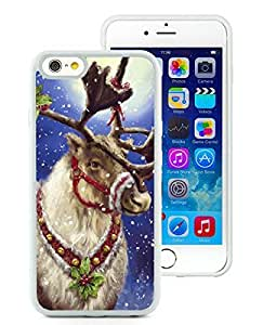 Recommend Design iPhone 6 Case,Christmas Deer White iPhone 6 4.7 Inch TPU Case 10