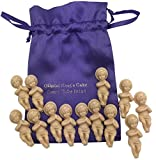 Westman Works Kings Cake Babies Bakers Dozen Set with Gift Bag and Thirteen Sweet Baby Jesus Figurines