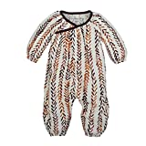 Burt's Bees Baby Baby Organic Coverall, Watercolor Jumpsuit, 0-3 Months