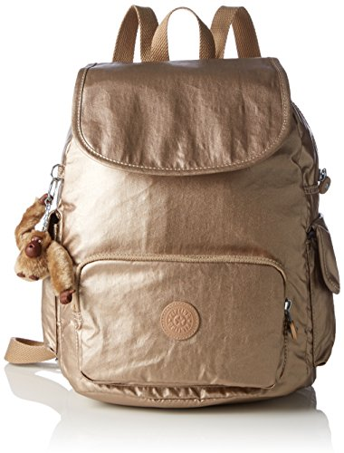 Kipling Women's City Pack S Backpack Handbags, Gold (REF34C Golden Rod), 27x33.5x19 cm (B X H X T)