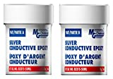 MG Chemicals Silver Epoxy Adhesive - High Conductivity, 4 hr. working time, 123 g, 2-Part Epoxy Kit