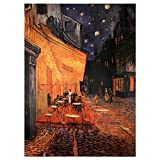 Oriental Furniture Cafe Terrace on the Place du Forum Canvas Wall Art