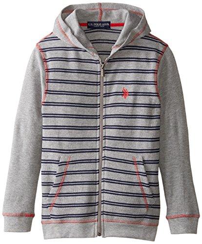 us-polo-assn-big-boys-full-zip-thermal-hoodie-medium-heather-gray-14-16