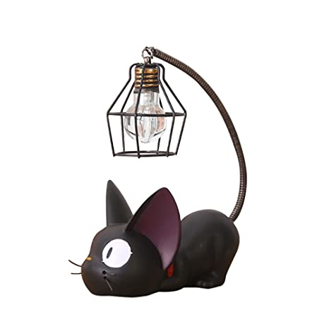 Astounding Winomo Resin Cat Design Lamp Creative Night Light Table Bedside Wiring Database Obenzyuccorg