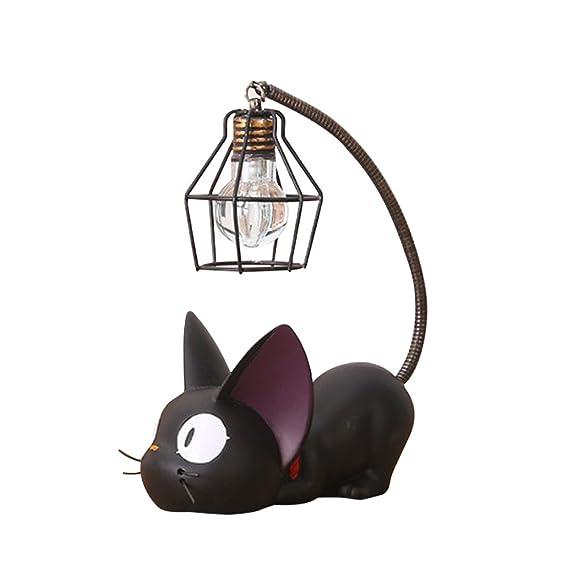 Winomo Lampada Da Disegno In Resina Cat Lampada Da Comodino Creativa