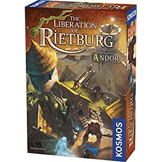 Thames & Kosmos 691746 Kosmos: The Liberation of Rietburg World of Andor, Co-op Game, 2-4 Players, Ages 10+