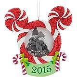 Hallmark Disney Mickey Mouse Photo Frame Christmas Ornament 2015