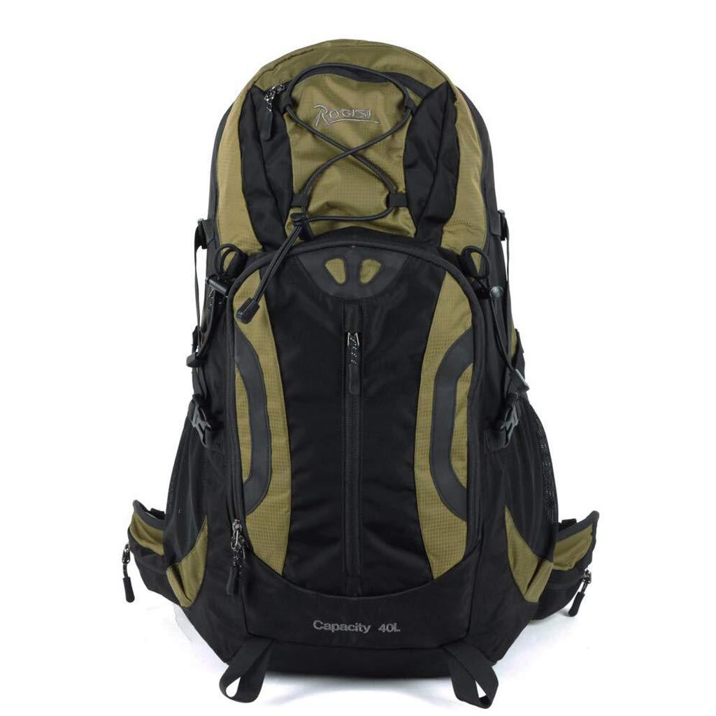 屋外バックパック ハイキングバックパックアウトドアスポーツ登山旅行光防水バックパック HBJP (色 : 緑)  緑 B07RM4FT19