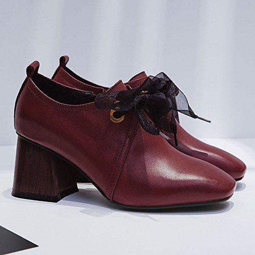 Primavera de Tac CXY Zapatos Peque Mujer os de de Zapatos Frescos Iqp6w7