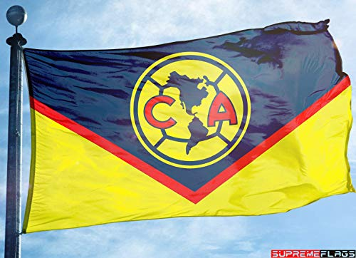 Club America Flag Banner 3x5 ft Aguilas Regular Soccer Mexico Futbol Bandera