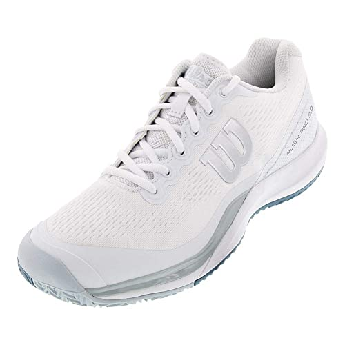 81b74de81 WILSON Rush Pro 3.0 Mens Tennis Shoe (White Blue)  Amazon.ca  Shoes ...