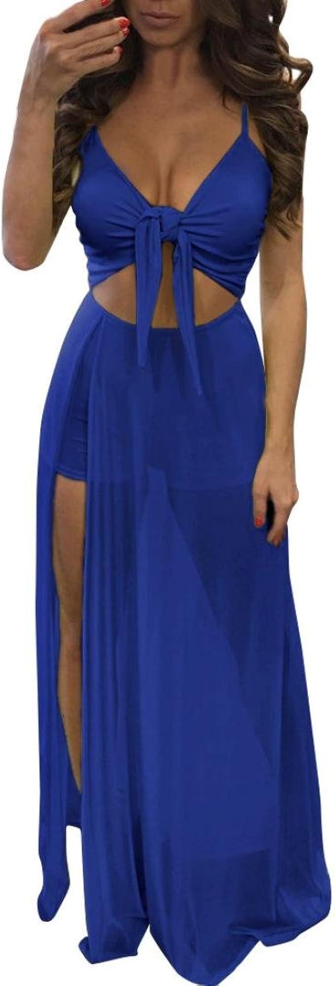 YOUBan Damen Sexy Kleid Jumpsuit Strampler Kurze Hose Kleid