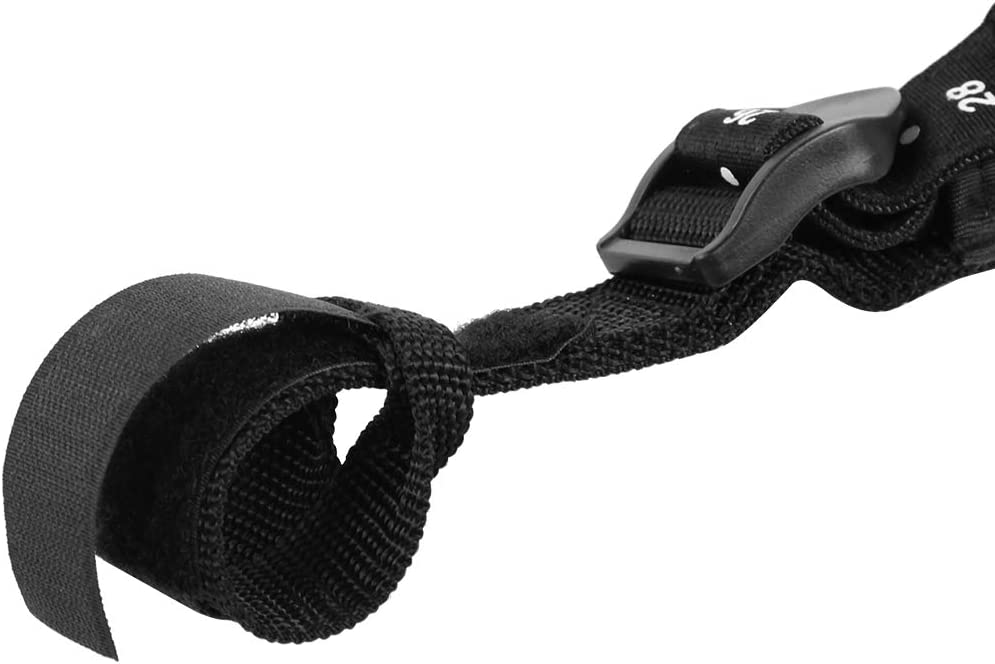 Alomejor Adjustable Non-Slip Windsurfing Harness Line 2PCS 22-28inch Safety Windsurf Harness Leash for Summer Water Sports