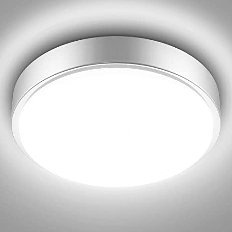 Amazon Com Olafus 32w Led Kitchen Ceiling Lights Fixture 2800lm Flush Mount Ceiling Lighting 10 30in 5000k Daylight White Ip44 Waterproof Modern Round Lamp For Bathroom Hallway Porch Home Improvement