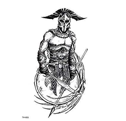 ruofengpuzi Guerrero Tatuaje Tatuaje Mangas De Gladiadores Romanos ...