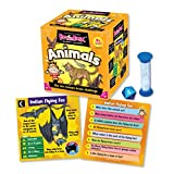 Brainbox Animals Card Game-Includes 52 cards, timer, 8-sided die and rules card! Great fun and learning for home, parties and travel!