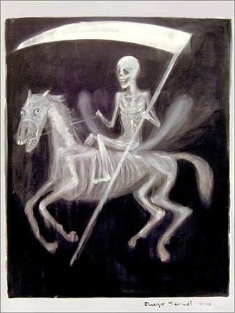 Posterlounge Cuadro de PVC 60 x 80 cm: The Death de Diego Manuel Rodriguez