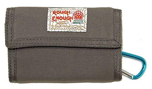 Rough Enough Canvas Classic Casual Wallet Purse (Grey)