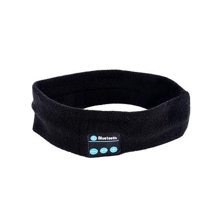 GLQ Bluetooth Sports Headband Sleep Headband-Wireless Earphone Stereo-Built-in Mikrofon-Soft and Comfortable/Travel Essential
