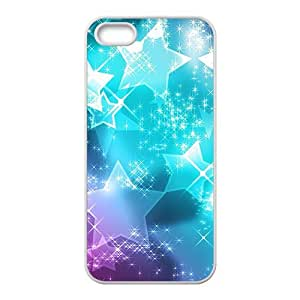 Shiny bright star Phone Case for iPhone 5S(TPU)