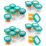OXO TOT 12-Piece Baby Blocks Set, Teal (2 Pack)