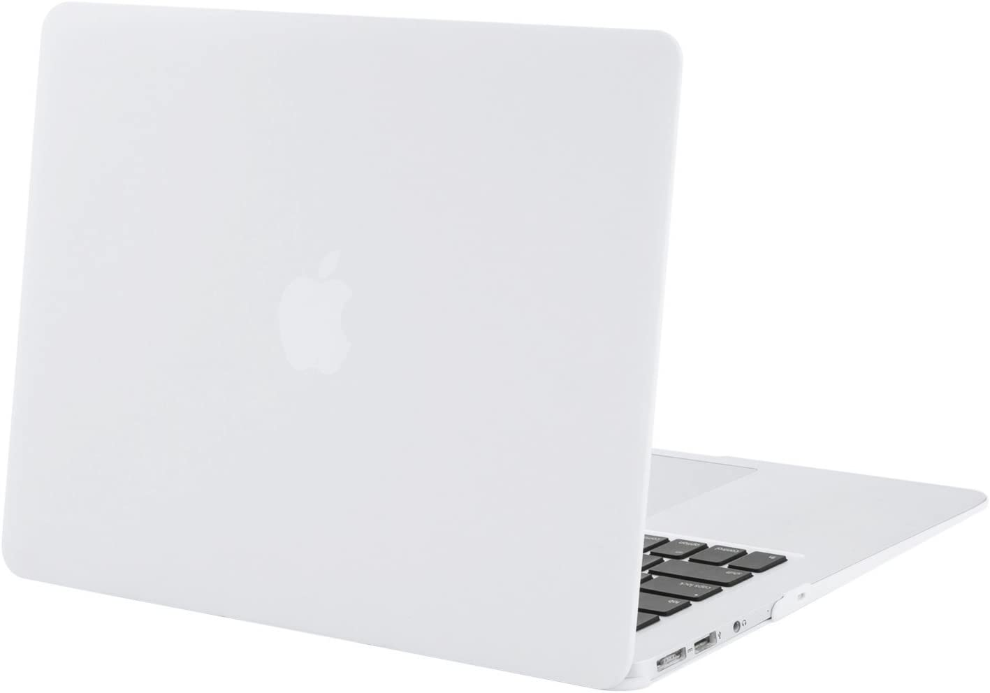 MOSISO MacBook Air 13 inch Case (Models: A1369 & A1466, Older Version 2010-2017 Release), Plastic Hard Shell Case Cover Only Compatible with MacBook Air 13 inch, White