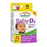 Jamieson Baby-D Vitamin D3 400 IU Droplets