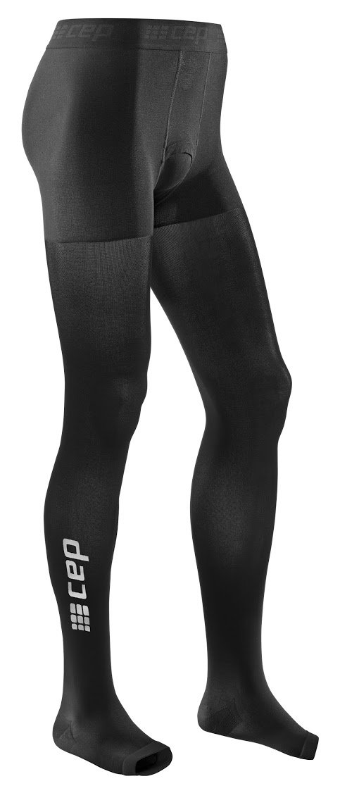 CEP Men's Recovery+ Compression Tights (Black) Size 2