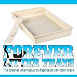 Forever Litter Tray -- Original Best Selling Permanent Scoopfree Compatible Litter Tray. The Greener & More Economical Alternative to Disposable Cartridges Since 2005