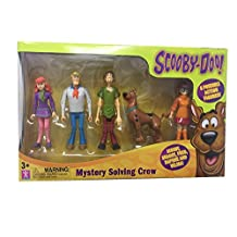 """Scooby Doo Mystery Solving Crew 5"""" Action Figure 5-Pack"""