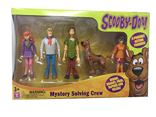 Scooby Doo Mystery Mates (Scooby Doo!, Mystery Mates, Mystery Solving Crew, 5-Pack)