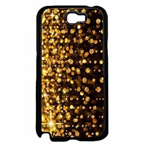 Gold Rain- Hard PC SILICONE Phone Case Back Diy For SamSung Galaxy S6 Case Cover