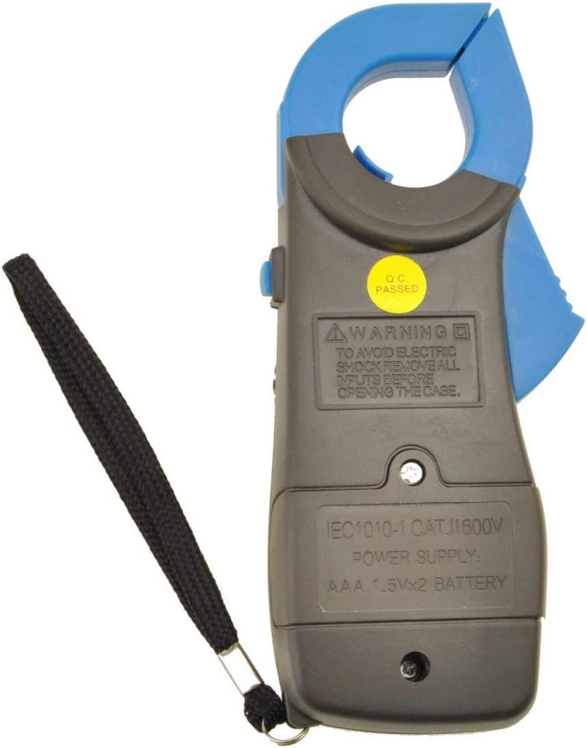 MadPrice Mult/ímetro Digital KT87N LCD Amplificador Pinza amperom/étrica Pinza amperim/étrica Tester de tensi/ón Corriente AC//DC