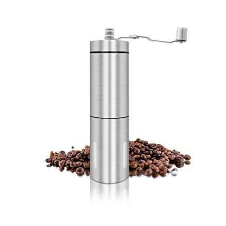 Mini Ceramic Burr Hand Coffee Mill Travel Grinder Stainless Steel  coffee