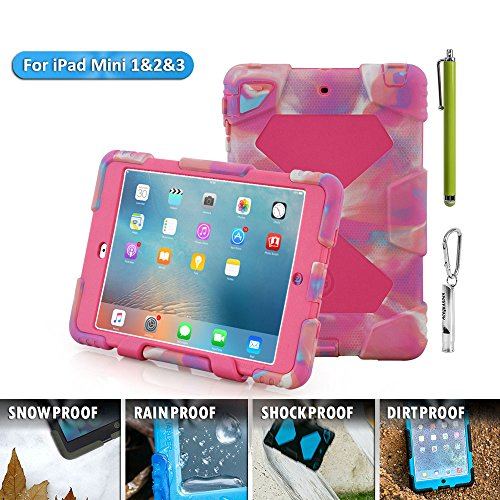 ACEGUARDER Apple Ipad Mini 2 Mini 1&2 Case Waterproof Rainpr