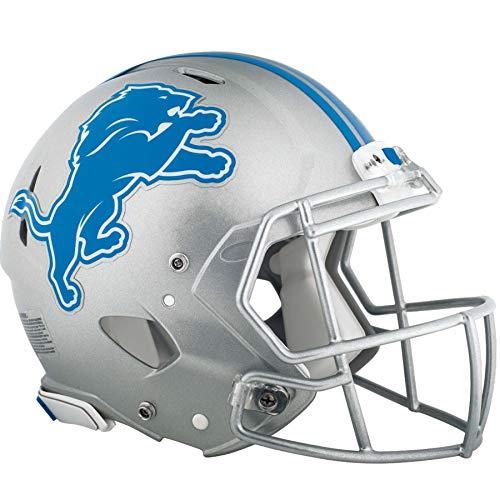 "FATHEAD Detroit Lions Mini Graphic Team Helmet Logo Official NFL Vinyl Wall Graphic 11""x9"" INCH"