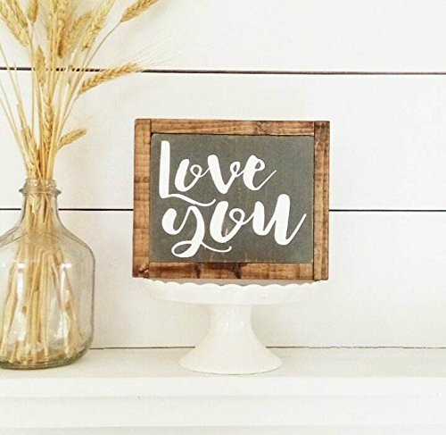Amazon Com Love You Handcrafted Wood Sign Farmhouse