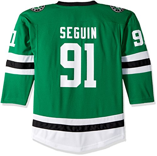 Outerstuff NHL Dallas Stars Youth Boys Replica Home-Team Jersey, Large/X-Large, Medium Green
