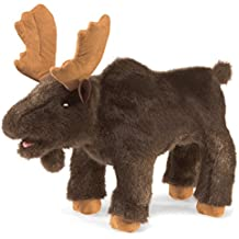 Folkmanis Small Moose Hand Puppet