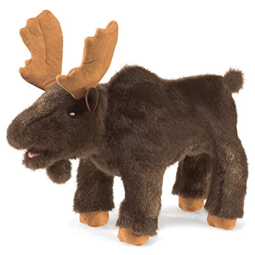 Moose Hand Puppet - 6