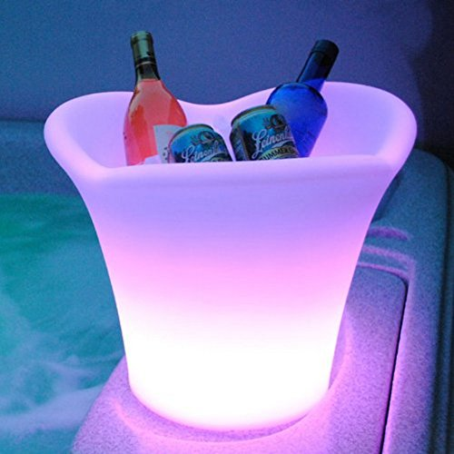 Main Access Napa 24-Color LED Illuminated Swimming Pool Patio and Deck Ice Bucket - 131774 by Main Access