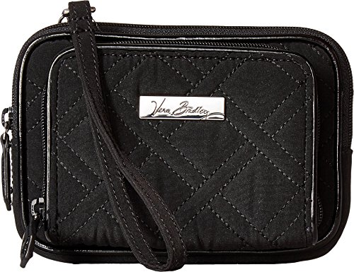 Vera Bradley Women's On The Square Wristlet Classic Black One Size