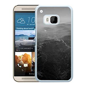 New Beautiful Custom Designed Cover Case For HTC ONE M9 With Nature Sky Mountain View Night Flight (2) Phone Case
