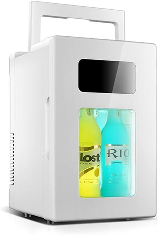 YZY Congelador Pequeño Refrigerador del Coche 10L Micro ...