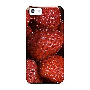 Faddish Phone Food Fruits And Berryes Strawberry Case For Iphone 5c / Perfect Case Cover