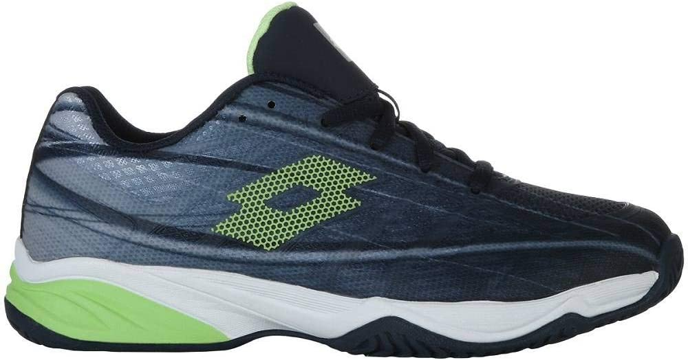 Lotto Zapatilla Tenis pádel Junior Mirage 300 ALR. 210746 Navy Blue/Green. Talla 38