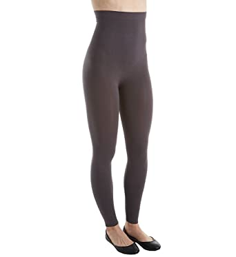 88002ad43195d0 Rhonda Shear Smooth Tootsie High Waist Shaping Legging (1386) at Amazon  Women's Clothing store: