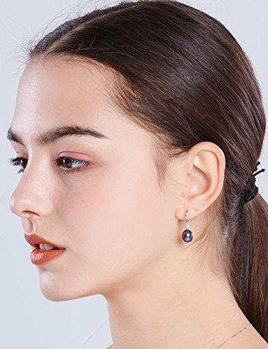Buy black pearl sterling silver ring