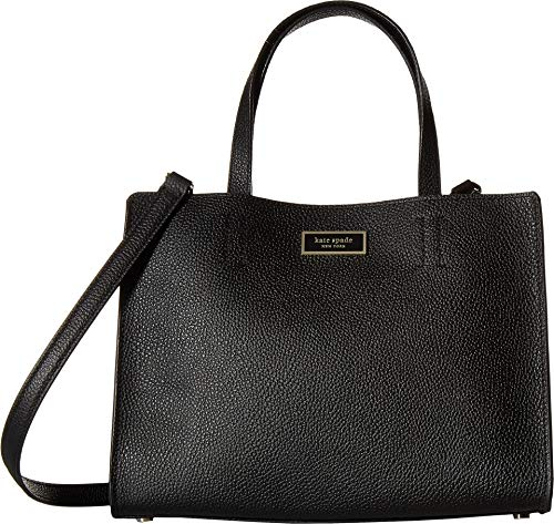 Kate Spade New York Women's Sam Medium Satchel Black One Size -
